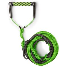 You need a shorter rope than wakeboarding to wakesurf. The Inland Surfer Wakesurf 23 ft Rope is designed specifically for wakesurfing. Long gone are the days of using your dog's extra long leash or your musty old garage utility rope! No more must you slash your old wakeboard rope! With a cushy handle and foam sleeve, pulling into the sweet spot has never been easier.