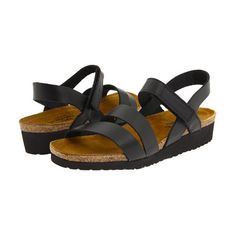 """NAOT Footwear Kayla: """"I tell my patients to think about walking on the beach and having the foot form a pattern in the sand—that is what most of the sandals that I recommend do. The second reason for the recommendation, particularly for women, is basically looks!"""" —Grace Hodges, a podiatrist in Pensacola, Fla."""