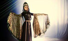 Circassian Dancing Warq Qafa  On stage  Adiga