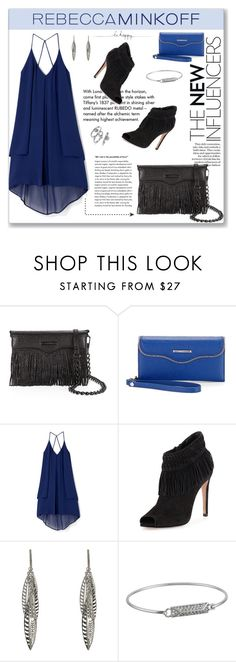 """""""Rebecca Minkoff"""" by vidrica ❤ liked on Polyvore featuring Tiffany & Co., Rebecca Minkoff, rebeccaminkoff, contestentry and polyvoreeditorial"""