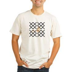 Chic Cute Yellow Monogram T-Shirt, #tee #personalized