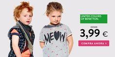 Colors Of Benetton, Face, T Shirt, Tops, Women, Fashion, Shopping, Tee, Moda