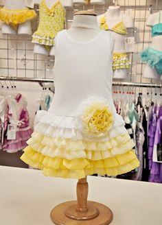 Sunny Day Chiffon Ruffle Tutu Dress3 Months to 6XNow in Stock!