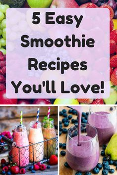 These healthy fruit smoothies are simple easy to make, with few ingredients! Natural delicious, these healthy fruit smoothie recipes are hard to resist! click now for more info. Healthy Fruit Smoothies, Fruit Smoothie Recipes, Healthy Fruits, Blog Websites, Few Ingredients, Weight Loss Smoothies, Dinner Recipes, Lose Weight, Canning