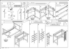 Ikea Flat-Pack Instructions Flat-pack instruction manuals use a style similar to. - Ikea DIY - The best IKEA hacks all in one place Ikea Bedroom Furniture, Ikea Furniture Makeover, Ikea Furniture Hacks, Furniture Assembly, Apartment Furniture, Furniture Market, Ikea Hacks, Best Ikea, Arquitetura