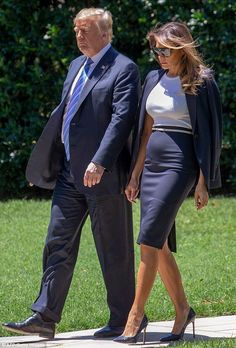 Donald Trump Family, Donald And Melania Trump, First Lady Melania Trump, Ivanka Trump, Milania Trump Style, Melania Knauss Trump, Malania Trump, Trump Is My President, How To Look Classy