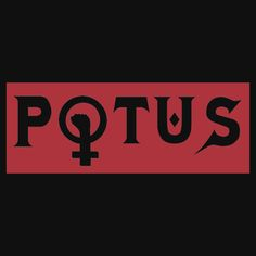 POTUS. THIS DESIGN AVAILABLE ON UNISEX T-SHIRT, STICKER, PHONE CASE, AND 20 OTHER PRODUCTS. CHECK THEM OUT.