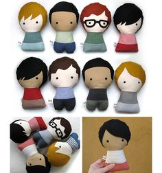 These dolls by Citizens Collectible are especially worthy of note, as they are totally customizable. Your very own personalized citizen comes in your choice of skin and hair color, glasses, type of fabric for the T-shirt and skirt or trousers