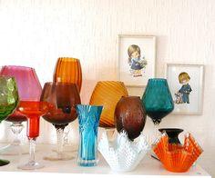 Vintage Retro Glassware.