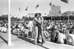 LGBT San Francisco pride parades, 1977-78.