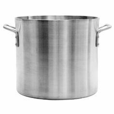 """50 Qt. Aluminum Stock Pot 6mm """"Heavy Duty"""" Commercial Grade *NSF Approved* by Chefs Pal. $117.73. Provides Excellent Heat Distribution. Riveted Loop Handles. NSF Certified. 50 Quart Aluminum Stock Pot *Heavy Duty 6mm Thickness*. Dent Resistant Surface. Aluminum Stock Pot *Heavy Duty 6mm Thickness* Provides Excellent Heat Distribution Dent Resistant Surface Riveted Loop Handles NSF Certified"""