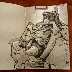 Ink drawing from life #drawing #dessin #encrage #croquis #sketch #sketchbook