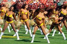 Redskin Cheerleaders