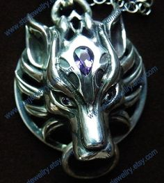 Steampunk Cloud Strife Fenrir head with World of by StarJewellry, $199.99