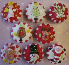 Christmas Cupcakes by Rebecca's Tastebuds, via Flickr