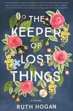 Check out this list of great new books to read in 2017. Includes The Keeper of Lost Things by Ruth Hogan. #ad