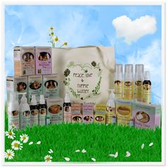 The Mother of All Mama and Baby Gifts has comforting, safe, zero toxin, herbal products for pregnancy, childbirth, breastfeeding, baby and beyond!