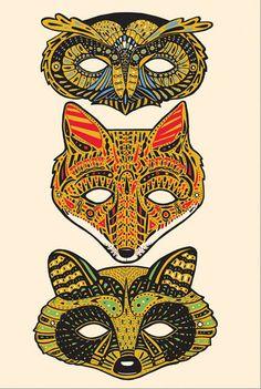 forest masks