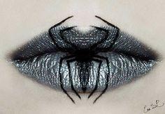 Terrorífico maquillaje de labios para Noche de Brujas | Upsocl Mujer
