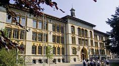 Alte Kontonschule Switzerland, Natural Beauty, Louvre, Street View, Building, Nature, Travel, School, Naturaleza
