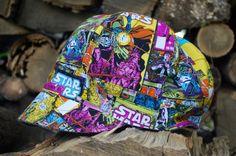 Jockey Cap reversible hat boy sun hat boy hat by eddieandsofia Boy Or Girl, Baby Boy, Fabric Board, Cute Caps, Fabric Combinations, News Boy Hat, Big Star, Sun Hats, Toddler Boys