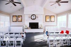 Lea & Lloyd's Sanderling Wedding   Keeper's Loft Ceremony