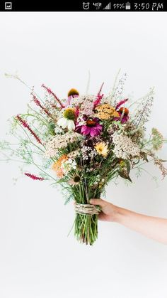 Wildflower bouquet - tattoo inspiration