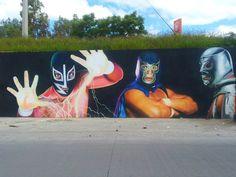 Graffiti de León Guanajuato @jcvillagomez