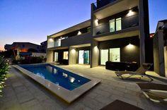 Villa with Pool to Rent in Rogoznica, Split Region, Croatia   Villa Holiday Rentals in Rogoznica   Villa Baileys