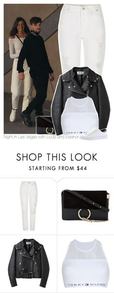 """Night in Las Vegas with Louis and Eleanor"" by perfectharry ❤ liked on Polyvore featuring River Island, Chloé, Acne Studios and Tommy Hilfiger"