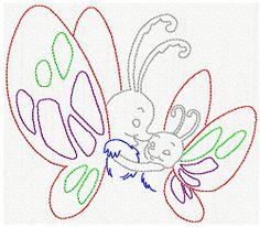 Motherly Love Butterfly CW