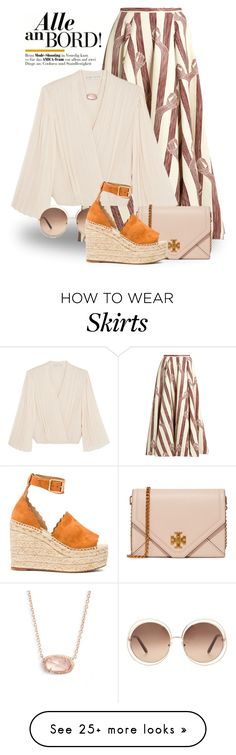 """May 24th (tfp) 3660"" by boxthoughts on Polyvore featuring Emilia Wickstead, Alice + Olivia, Tory Burch, Chloé, Kendra Scott and tfp"