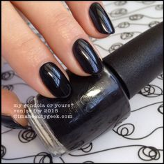 *Opi My Gondola or Yours? NLV36 / Venice Collection Fall / Winter 2015
