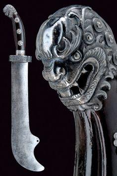 A rare machete   provenance:China dating: 19th Century