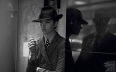 Гангстер Аризона Мьюз в Vogue Paris