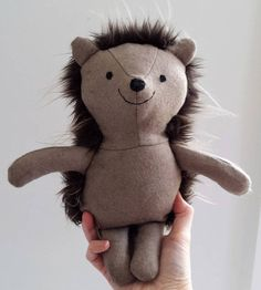 Hedgehog Woodland Animal Stuffed Hedgehog Plushie named