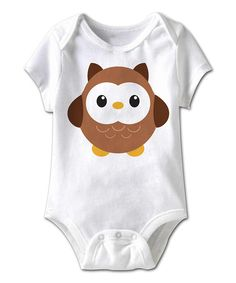 Look at this American Classics White Hoot Owl Bodysuit - Infant on #zulily today!
