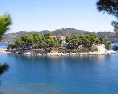 Mamma Mia island Skiathos wedding, Bourtzi ceremony and romantic roof terrace reception