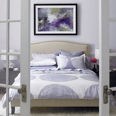 Colette King Bed in Beds & Headboards | Crate and Barrel