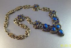 Vintage French Art Deco Gripoix Necklace Made by LynnHislopJewels