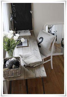 Cute cottage workspace