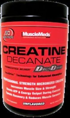 Buy a lot & save a lot you're getting 100% Original Supplements your body will be glad you got ours! LOT OF 5 - 10.58 oz MUSCLEMEDS Creatine Decanate Unflavor. BUY 5 & SAVE