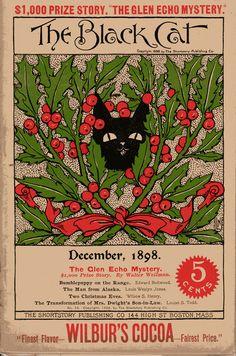 BLACK CAT   DECEMBER 1898