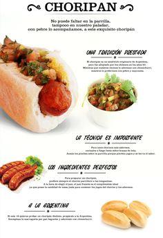 al chori al chori Argentine Recipes, Chilean Recipes, Chilean Food, Dog Recipes, Grilling Recipes, Healthy Recipes, Argentina Food, Sandwiches, Food Truck Design