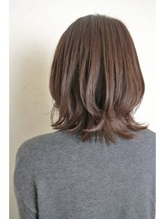 Pin on 髪型 Haircuts For Medium Hair, Medium Hair Cuts, Hairstyles Haircuts, Pretty Hairstyles, Short Hair Cuts, Medium Hair Styles, Long Hair Styles, Shot Hair Styles, Layered Hair