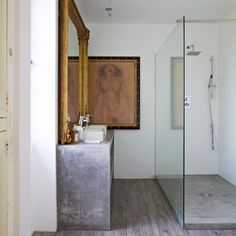 Shower room | Rustic French retreat | House tour | PHOTO GALLERY | Livingetc | Housetohome.co.uk