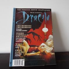 Vintage 1993 Bram Stoker's Dracula The Official Movie Adaptation Comic Horror Aliens Vampire Occult by VintageBlackCatz on Etsy