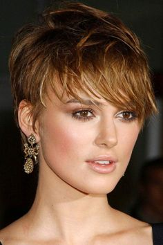 Keira Knightley short pixie hairstyle