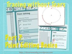 Tracing without Tears in Silhouette Studio Part 7 Point Editing by Clever Someday (How to connect points between two separate shapes in Silhouette Studio) - YouTube