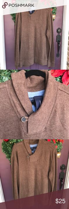 Tommy Hilfiger sweater Brown sweater Tommy Hilfiger Sweaters
